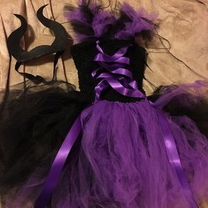 Girls Maleficent Tutu Costume